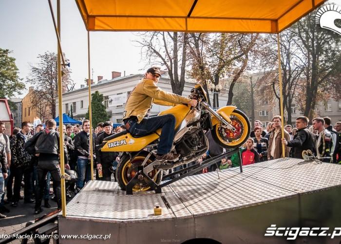 motocyklisci w tarnowie symulator