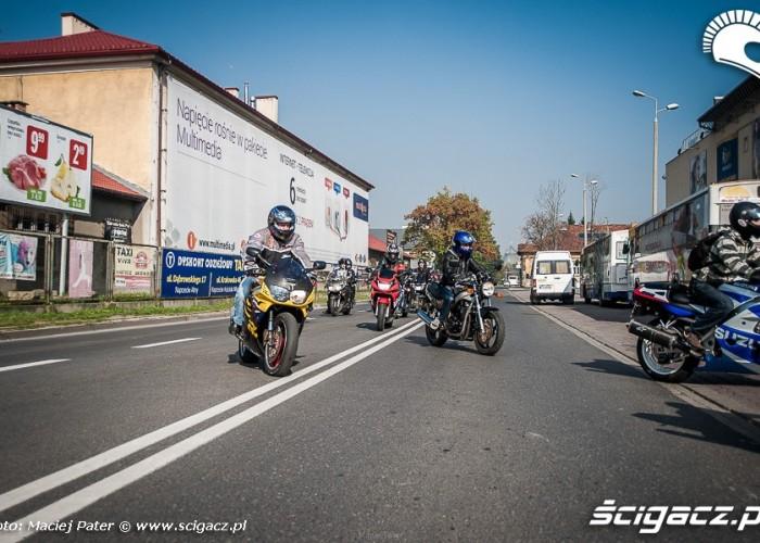 tarnow zakonczenie motocykle