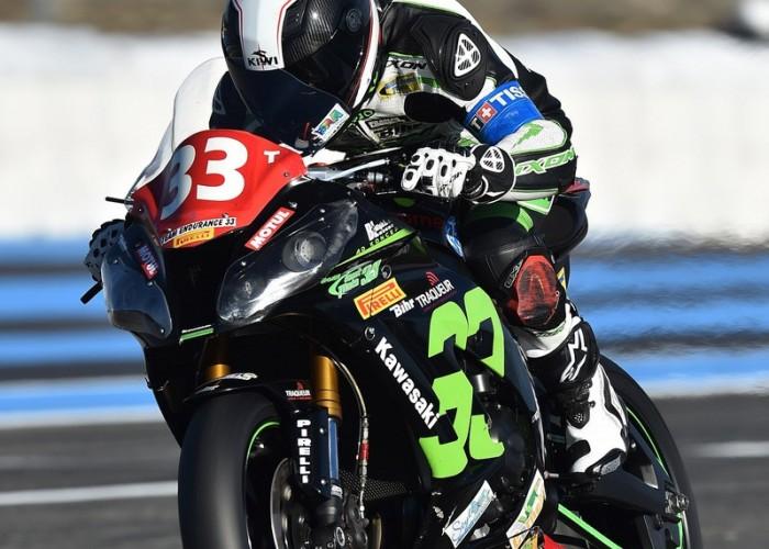 Kawasaki Team Traqueur Louit Moto 33 Bol dOr 2015