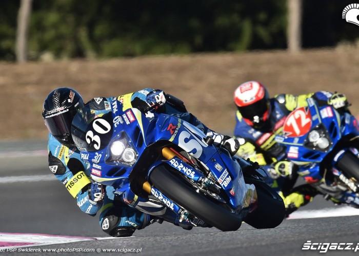 Suzuki Endurance Racing team na kolanie Bol dOr 2015