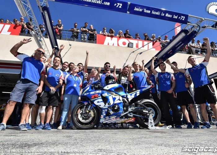 ekipa Junior Team Le Mans Sud Suzuki Bol dOr 2015