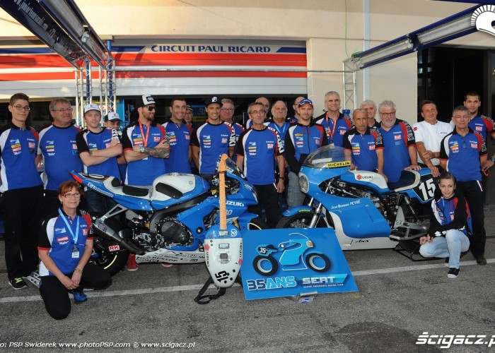 ekipa Suzuki Endurance Racing Team Bol dOr 2015