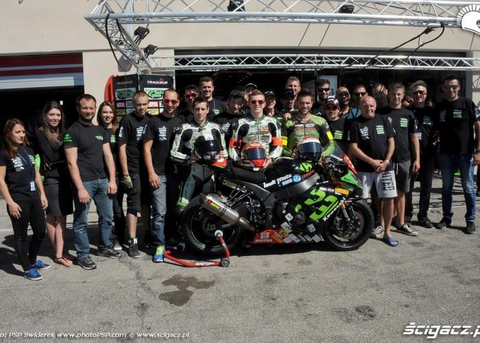 ekipa Team Traqueur Louit Moto 33 Bol dOr 2015