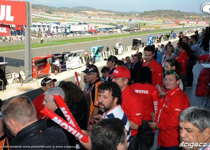 GP Walencji 2015 trybuny