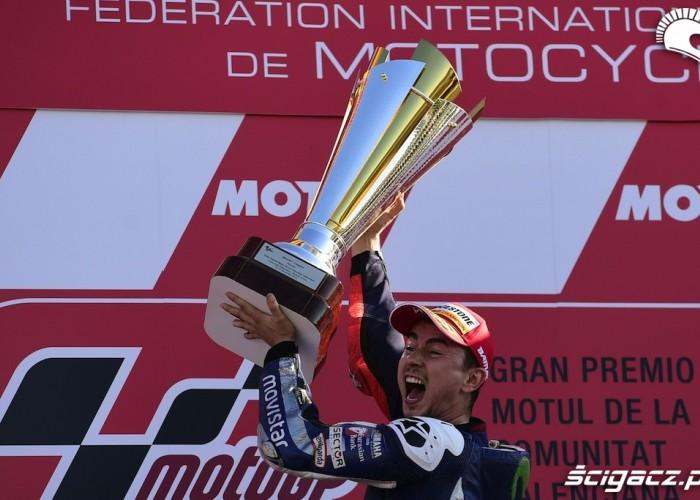 Grand Prix Valencja 2015 Champion trofeum