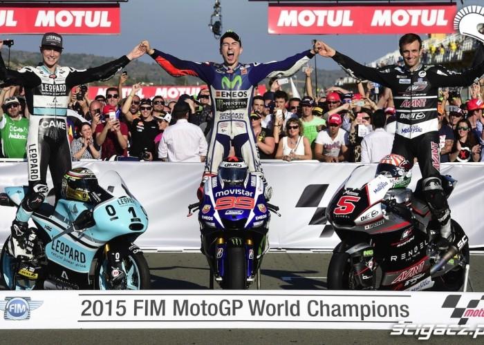 Grand Prix Valencja 2015 Mistrzowie Swiata