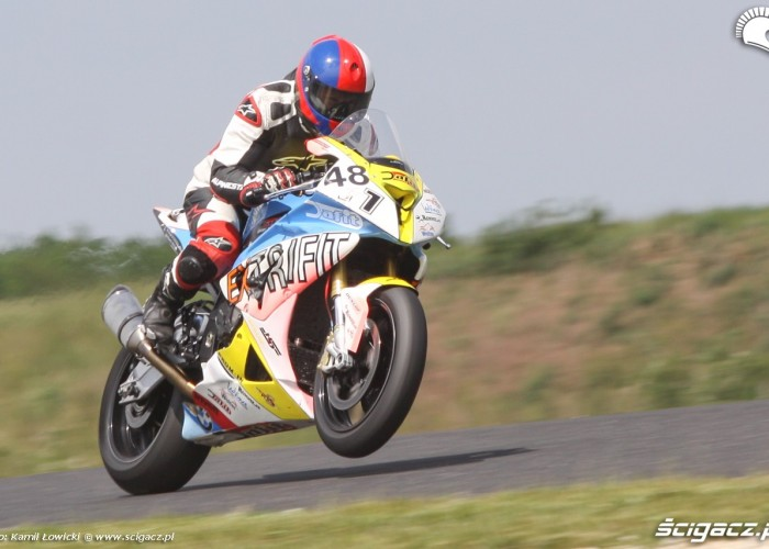 BMW S1000RR Pannonia Ring 2015