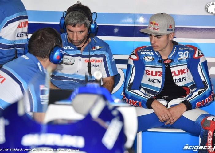 Box Suzuki GP Niemiec 2015