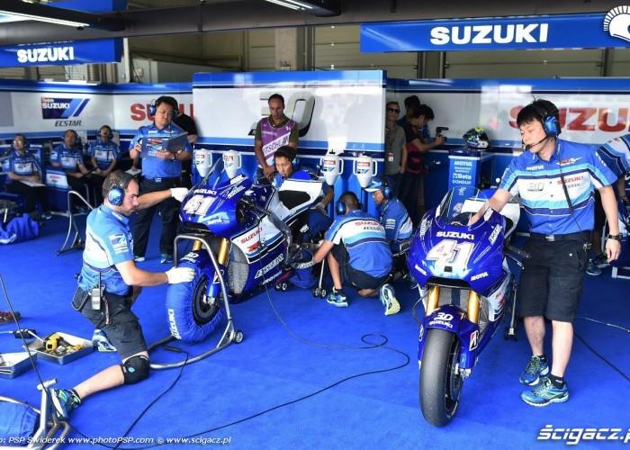 Garaz Suzuki GP Niemiec 2015