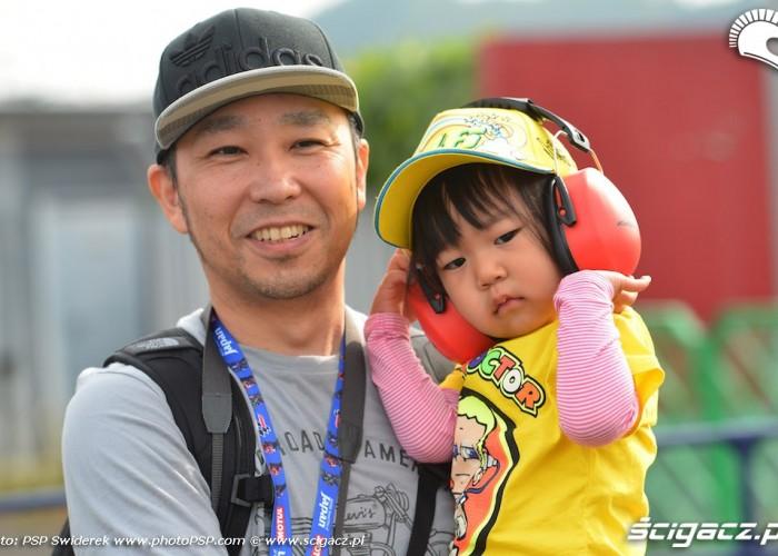 fani dziecko gp japonii