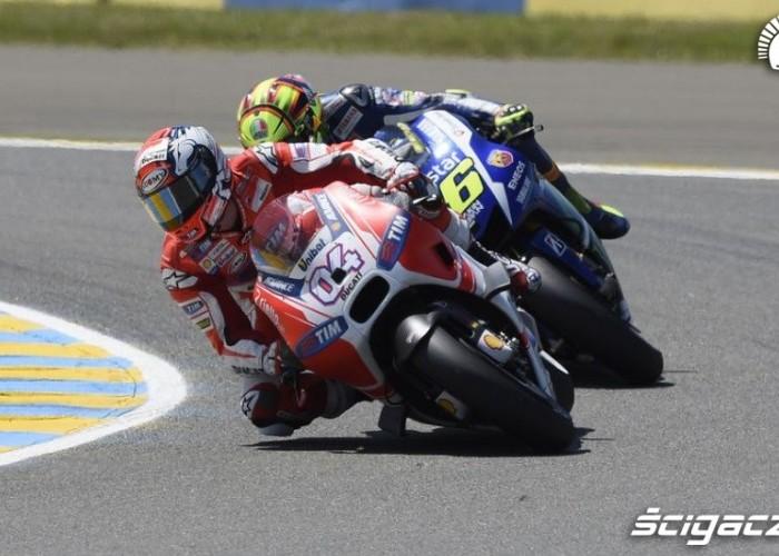 Rossi goni Ducati