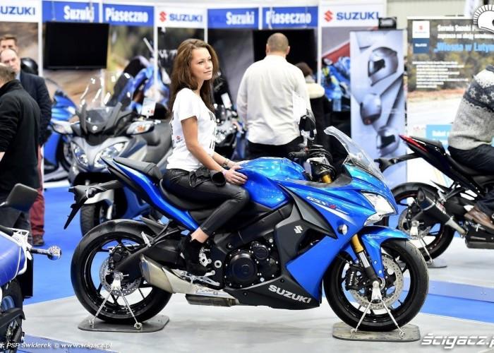 Suzuki GSX Wystawa motocykli i skuterow 2015