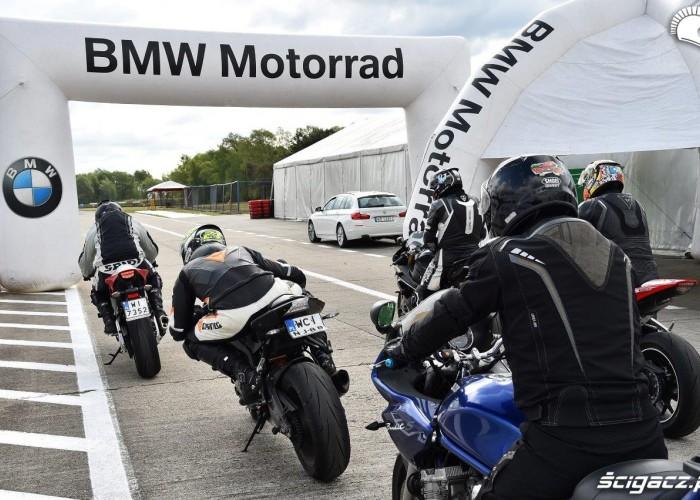 California Superbike School Poznan przygotowanie