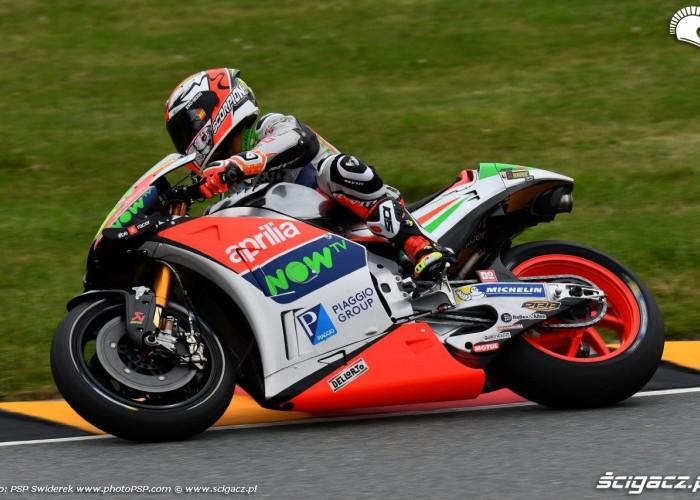 Aprilia Grand Prix Niemiec 2016 Sachsenring
