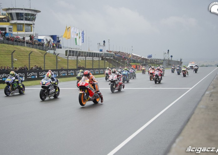 MotoGP Sachsenring 2016 start