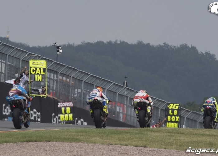 MotoGP Sachsenring 2016 tablice