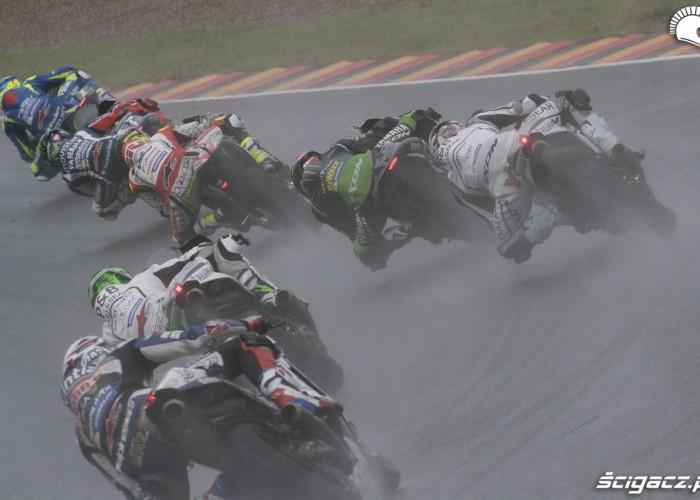 MotoGP Sachsenring 2016 walka