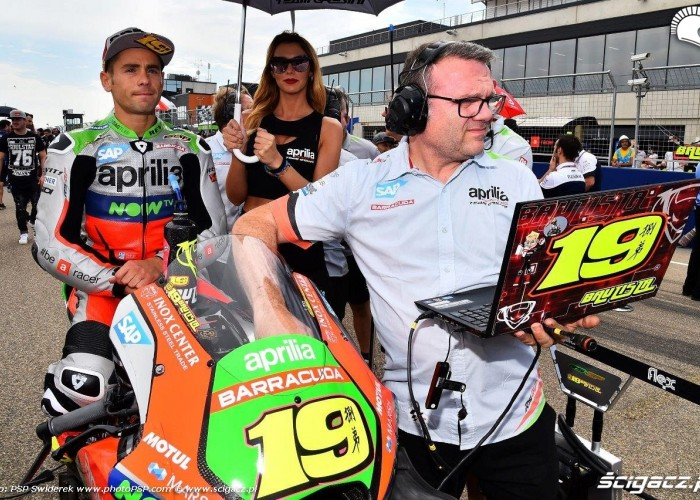Bautista grid Grand Prix Aragonii 2016