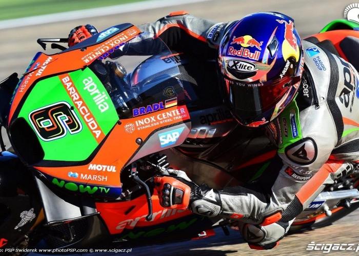 Bradl Aprilia Grand Prix Aragonii 2016