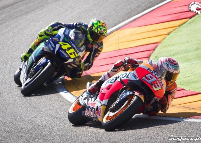 GP Aragonii 2016 Marquez Rossi