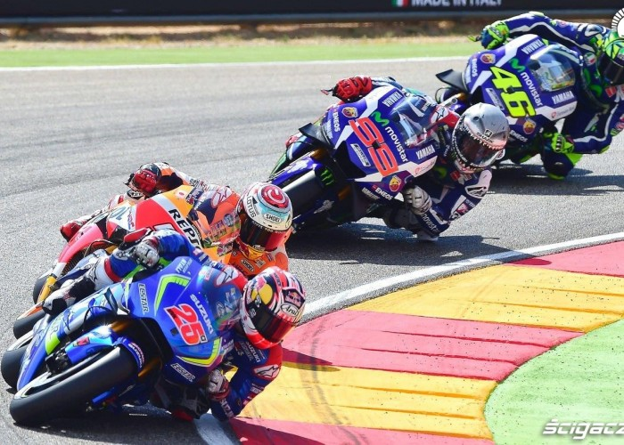 GP Aragonii 2016 wyscig MotoGP