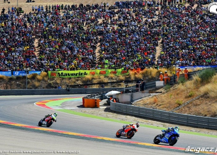 Grand Prix Aragonii 2016 MotoGP kibice