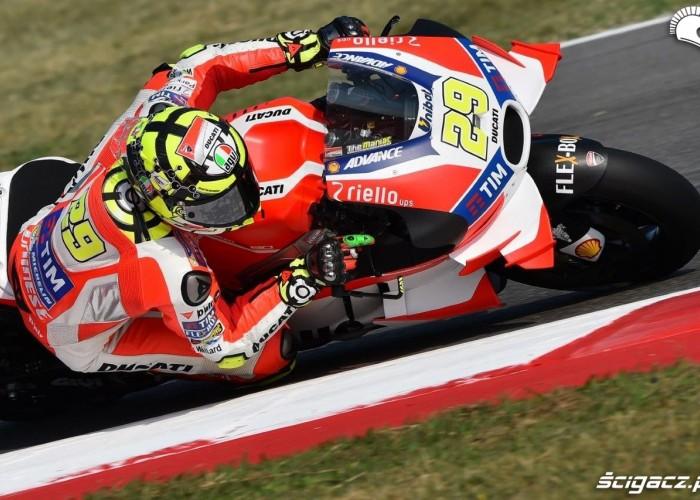 Iannone Grand Prix Misano 2016 treningi