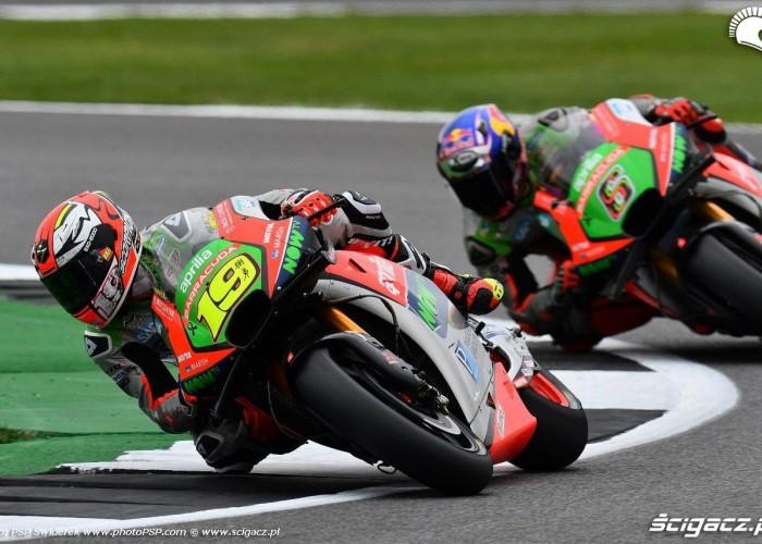 Great Britain GP 2016 Aprilia