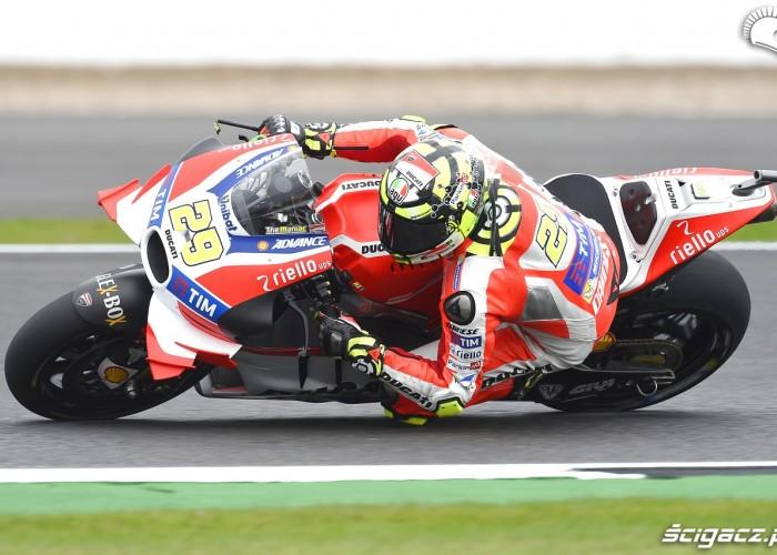 Iannone Grand Prix Wielkiej Brytanii 2016