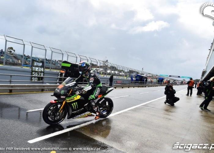 Deszczowa Grand Prix Australii 2016
