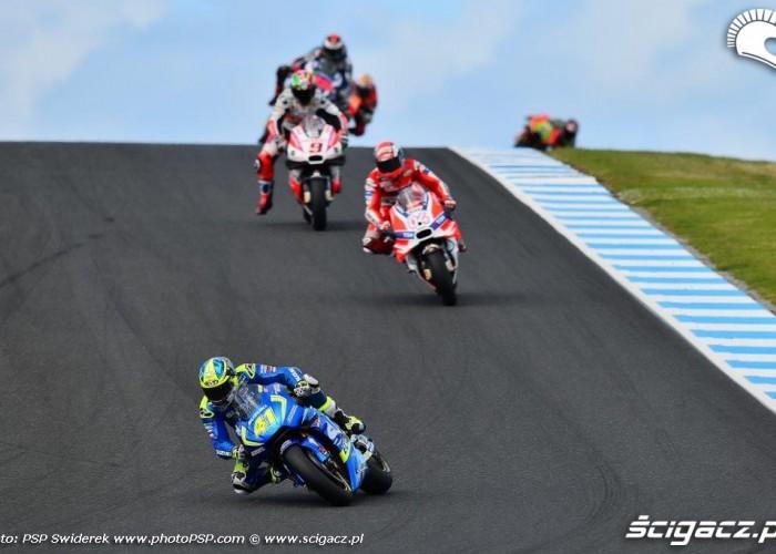 Grand Prix Australii 2016 Suzuki Ducati