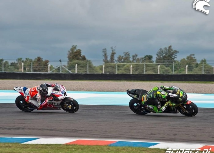 Ducati vs Yamaha GP Argentyna 2016