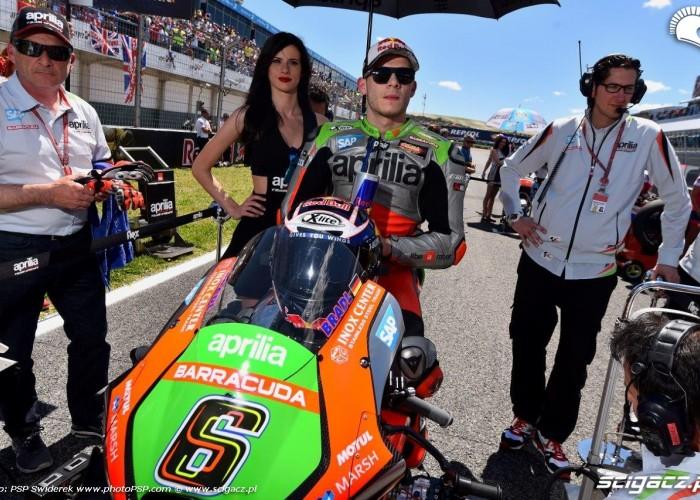 Bradl Grid GP Hiszpanii Jerez