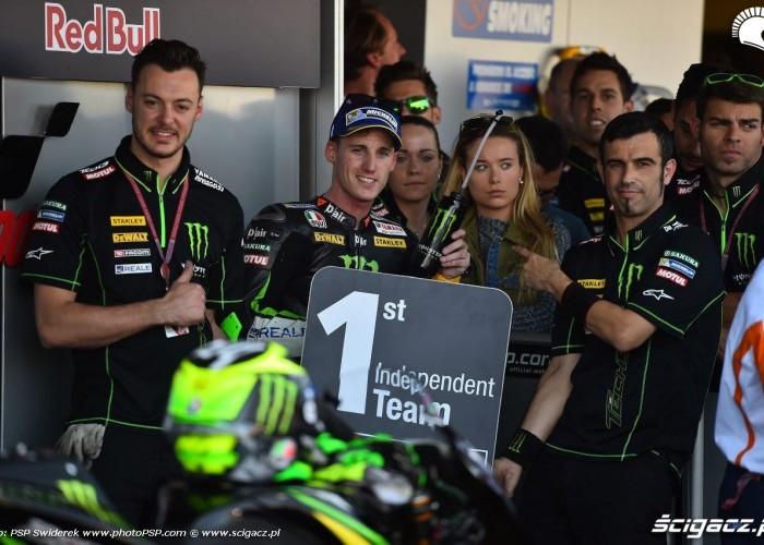 GP Hiszpanii Jerez Pol na mecie