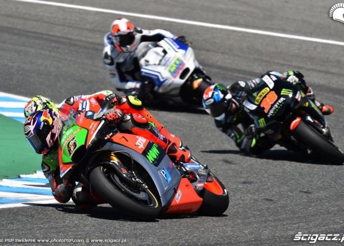 GP Hiszpanii Jerez walka