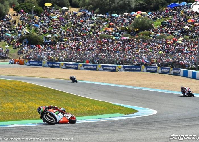 Kibice GP Hiszpanii Jerez