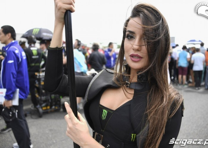 brunetka monster gp francji 2016