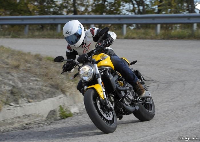 Ducati Monster 821 2018 jazda