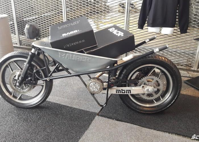 motocykl taczka