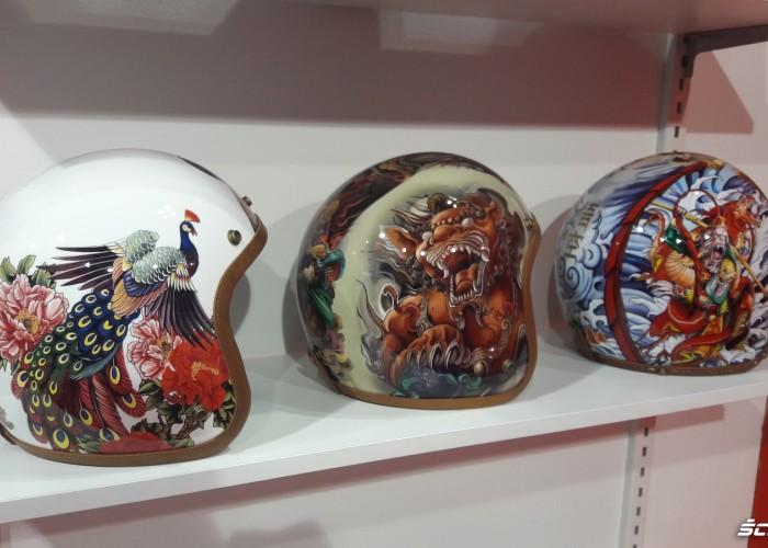 oryginalne malowania kaskow