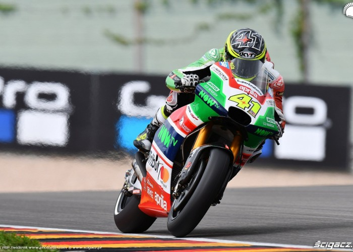 MotoGP Sachsenring Aleix Espargaro 41 Aprilia Gresini 14