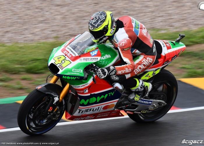 MotoGP Sachsenring Aleix Espargaro 41 Aprilia Gresini 17