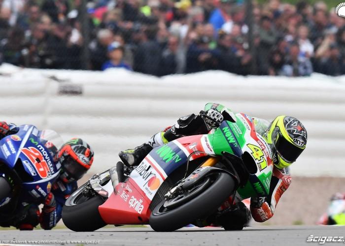 MotoGP Sachsenring Aleix Espargaro 41 Aprilia Gresini 1