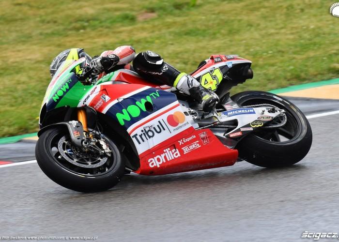 MotoGP Sachsenring Aleix Espargaro 41 Aprilia Gresini 24
