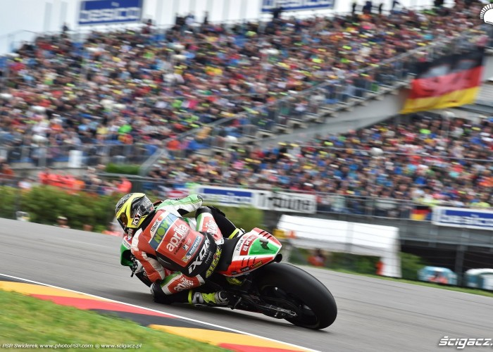 MotoGP Sachsenring Aleix Espargaro 41 Aprilia Gresini 4