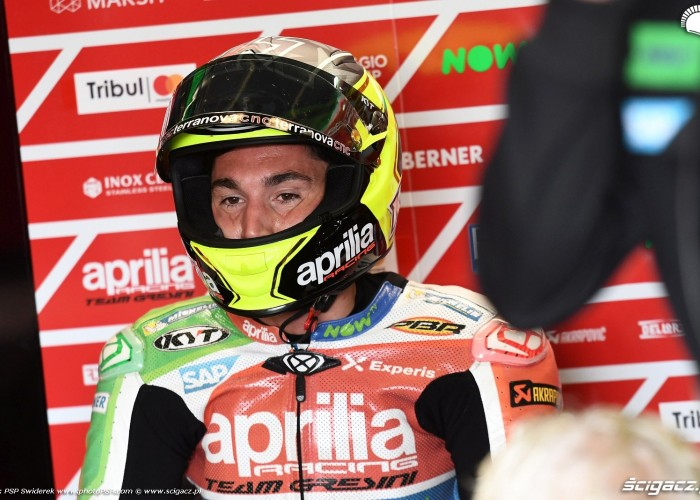 MotoGP Sachsenring Aleix Espargaro 41 Aprilia Gresini 5