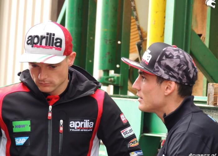 MotoGP Sachsenring Aleix Espargaro Sam Lowes Aprilia Gresini 2