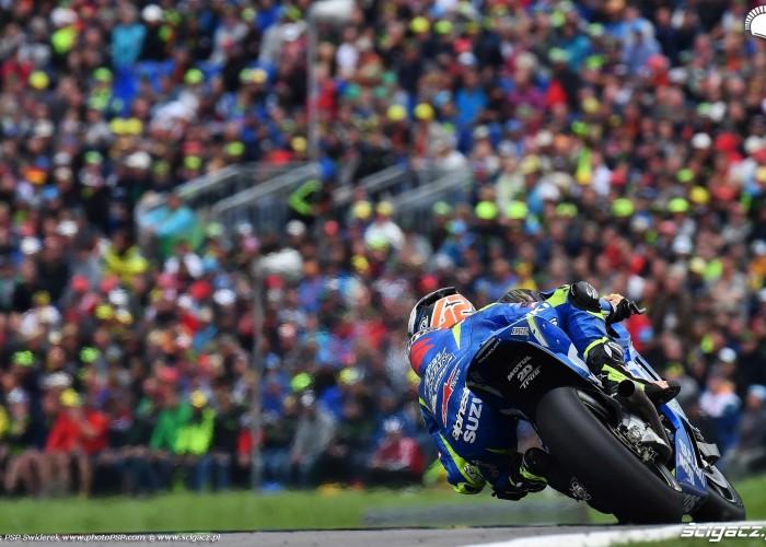 MotoGP Sachsenring Alex Rins 42 Ecstar Suzuki 1
