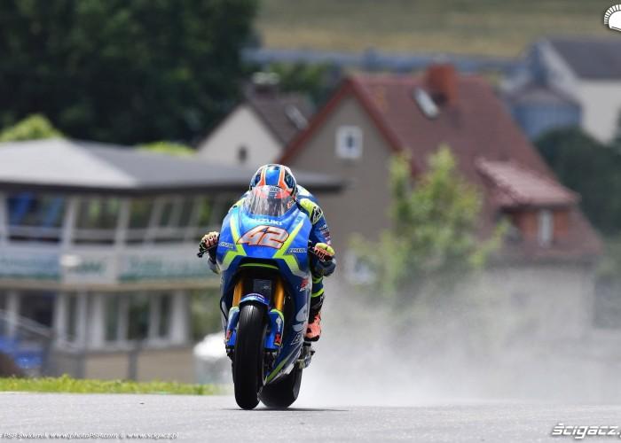 MotoGP Sachsenring Alex Rins 42 Ecstar Suzuki 11