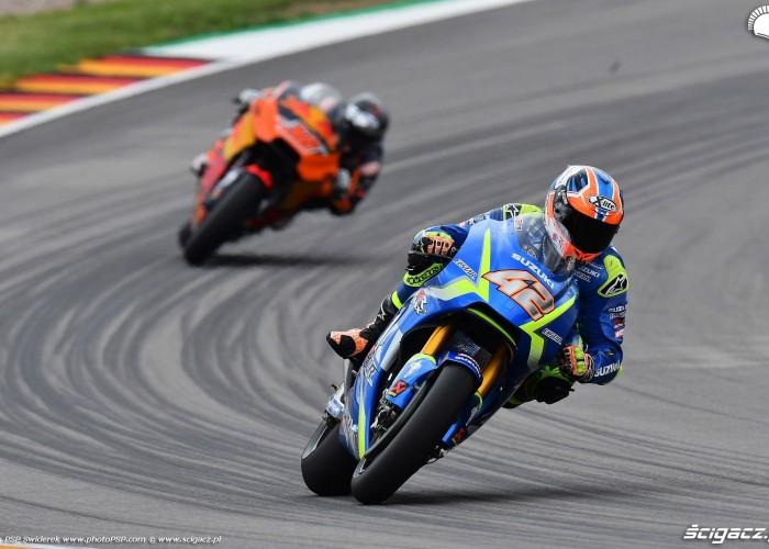 MotoGP Sachsenring Alex Rins 42 Ecstar Suzuki 12